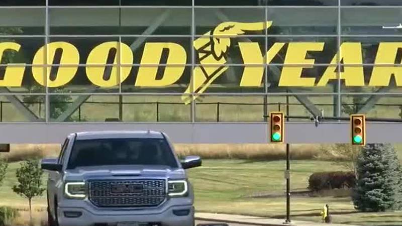 President Trump calls for boycott of Goodyear after company policy calls 'MAGA' attire...