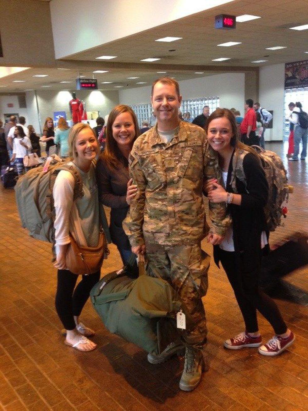 Dr. Shephard, Melanie & their daughters