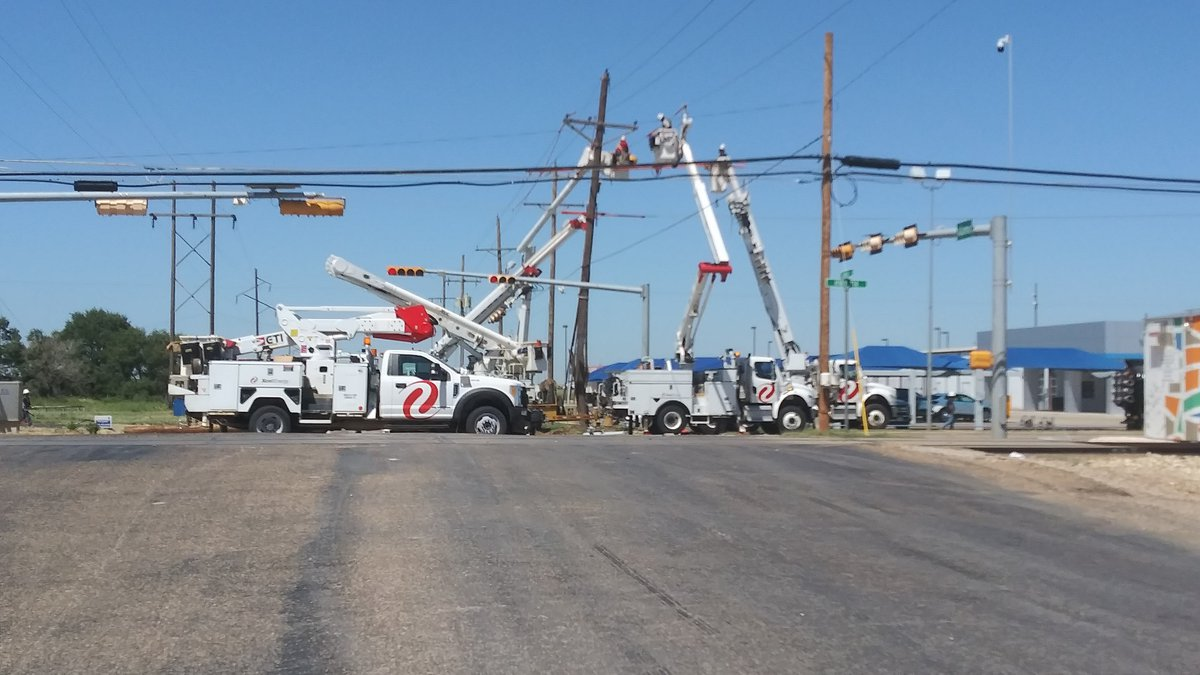 The intersection of Highway 114 and Alamo Rd. in Levelland is expected to be closed until 4...
