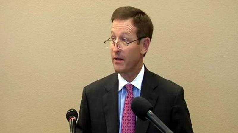 Marc McDougal held a press conference on Thursday afternoon