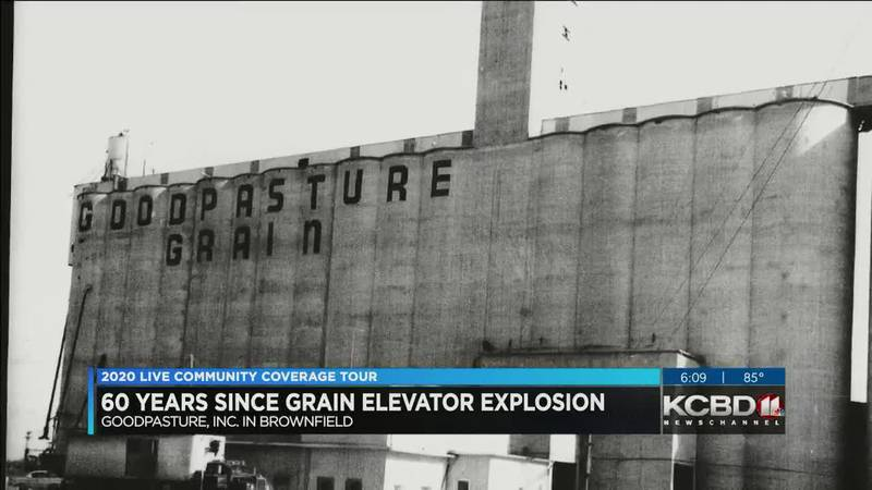 KCBD 2020 CCT Brownfield - Grain Elevator Explosion