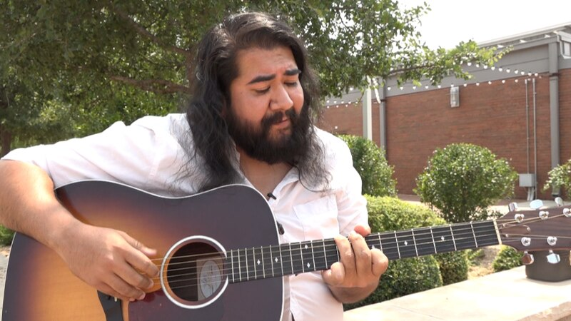 Musician Aaron Smith, of Levelland, is one of 16 musical artists to perform at the all-day...