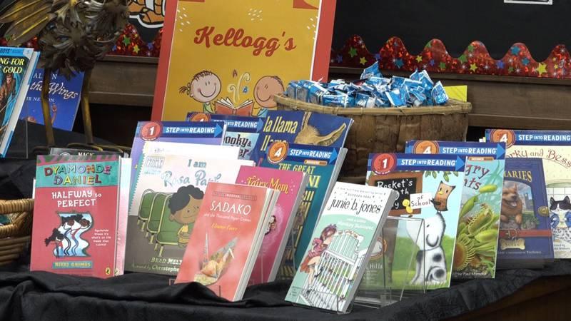 1,000 books donated ahead of Saturday's Book Festival