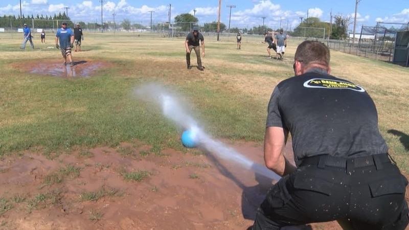 For challenge #988, we took on the Floydada Fire Department in Fireman baseball.