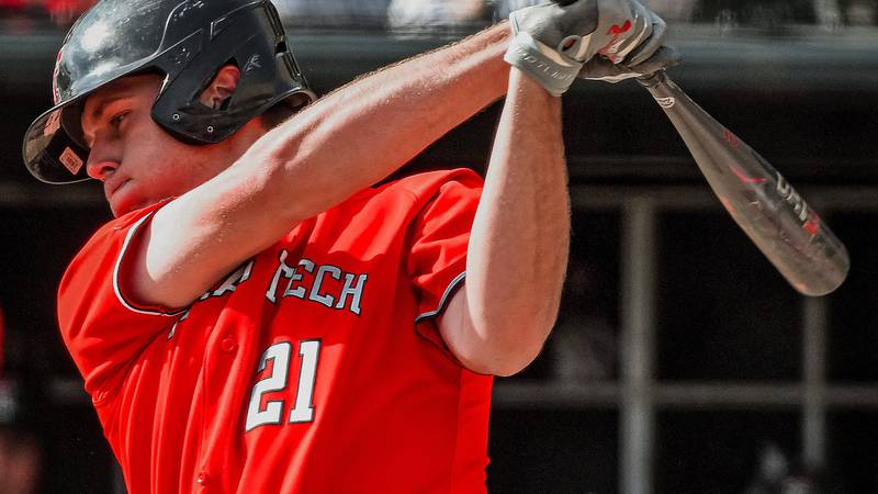 Texas Tech baseball's run in the Big 12 tournament comes to an end after a 7-2 loss to Kansas...