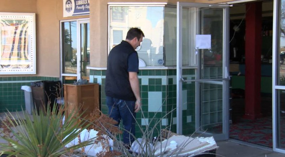 The Cactus Theatre, in the heart of Lubbock's Depot District, is repairing water damage from...