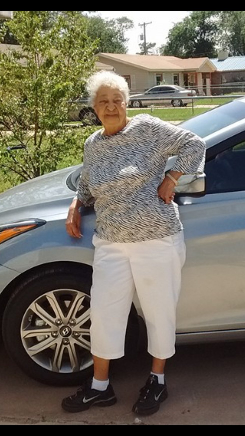 """Johnnie Mae Garner, 88, of Lubbock was known as """"Mama"""" to nearly everyone in her neighborhood..."""