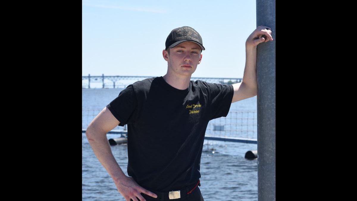 Petty Officer 3rd Class James Sescil, a 2019 Lubbock High School graduate, joined the Navy two...