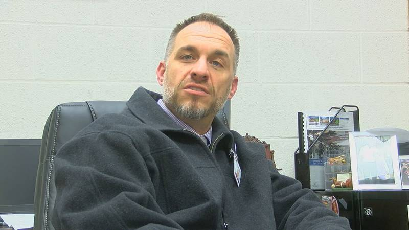 Whitehouse Athletic Director Adam Cook (KTRE Sports)