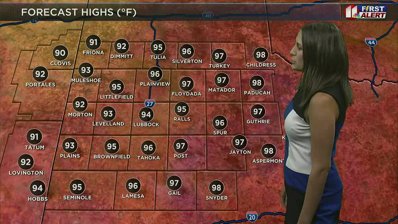 Daybreak Today 7 a.m. Weather