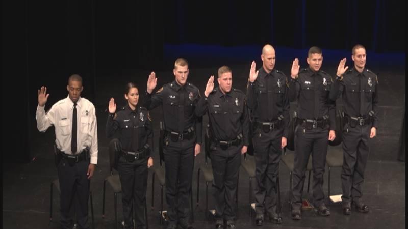 Lubbock Police Academy graduates seven new recruits