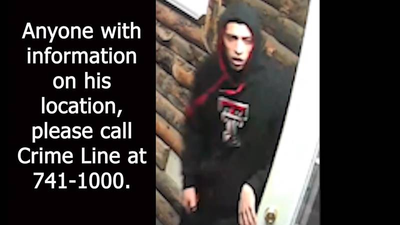 Lubbock police are searching for robbery suspect Ricardo Real.