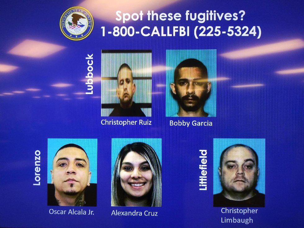 Fugitives in Operation Taste the Rainbow