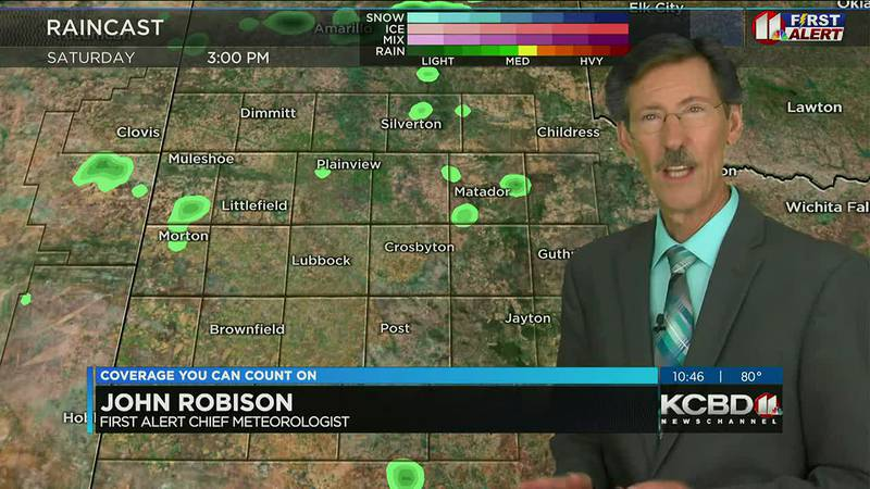 KCBD Weather at 10 for Friday, July 30