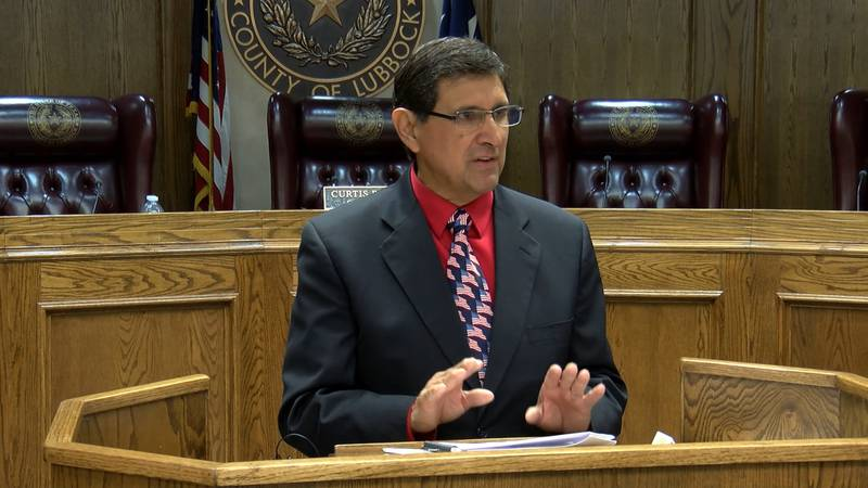 Ysidro Gutierrez kicked off his campaign for Lubbock County Commissioner on Friday.