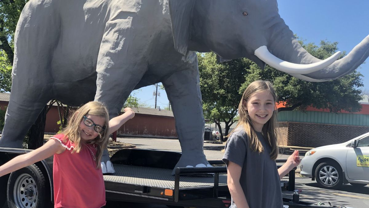 The grandfather of a Lubbock pastor created a safari guide as a way to get his family to go on...