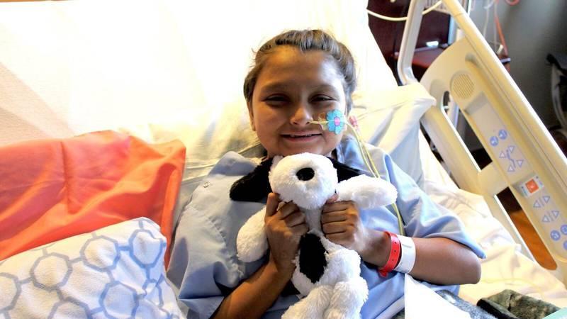 Nevaeh Flores of Lubbock at Nebraska Medical Center (Source: Nebraska Medical Center)