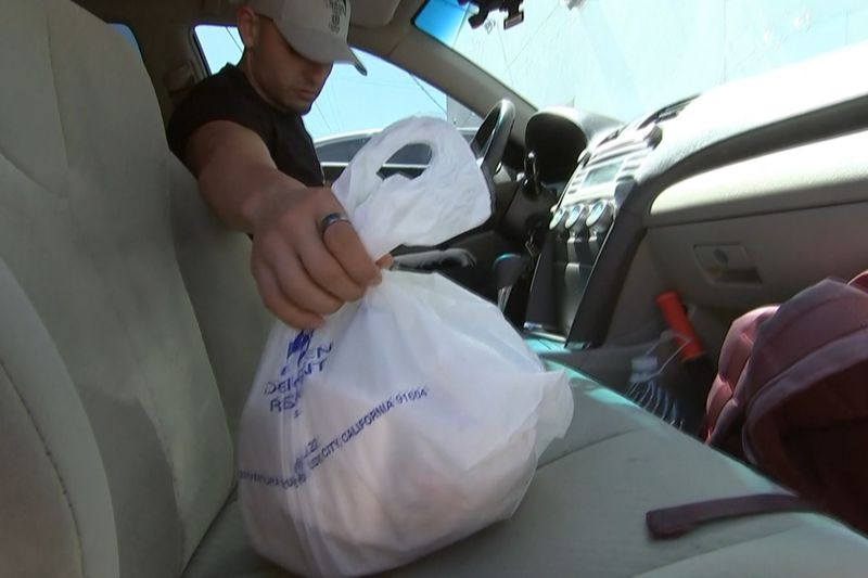 Services like The Butler are taking extra precautions as they bring food to your door.