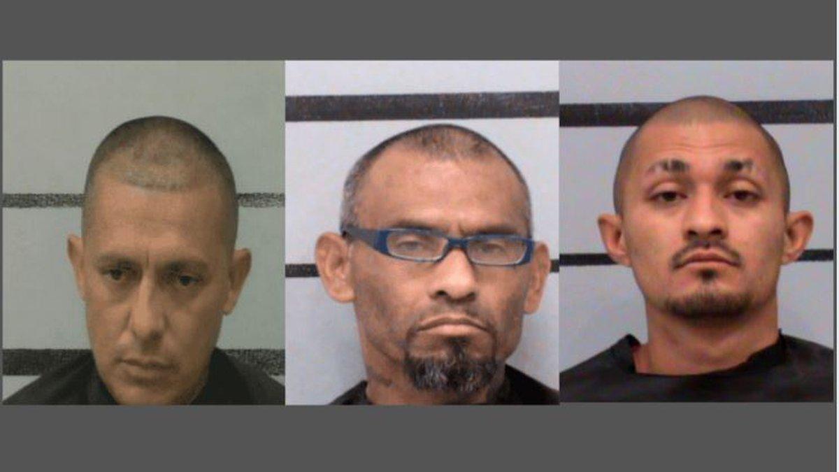 Jamie Garcia, Aniseto Olivarez Jr, Romando Richard Martinez