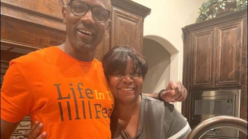 After 17 years, Kendrick was finally able to hug his mother and rekindle a relationship with...