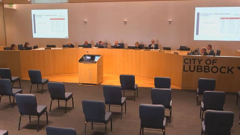 The Lubbock City Council is presented recommendations from the Future Needs Committee on April 13