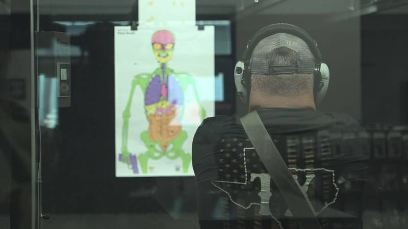 Thomas Larson, owner at Lone Star Shooting Sports, says everyone should be able to carry a...