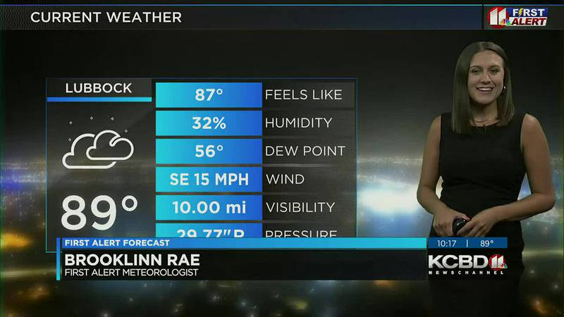 KCBD Weather at 10 for Sunday, June 20