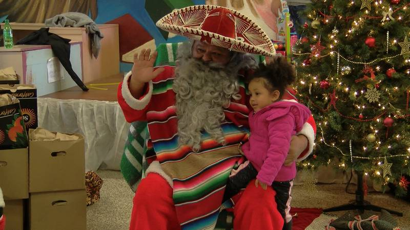 Pancho Clos is set to drop in and visit with children to spread some holiday cheer, hand out...