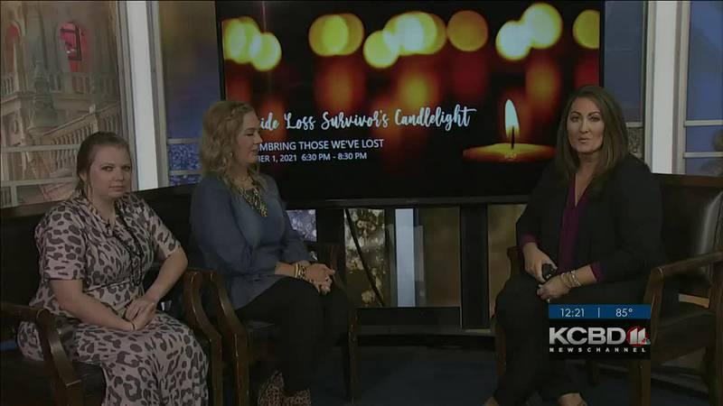 Noon Notebook - 'Suicide Loss Survivor's Candlelight'