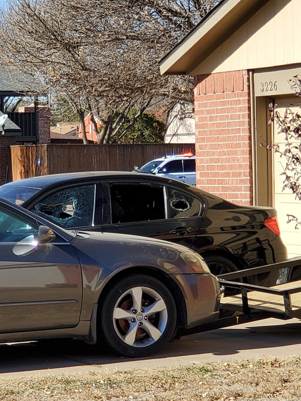 A suspect fired a shotgun at a vehicle and a house in the 3300 block of 90th Street on Dec. 9,...