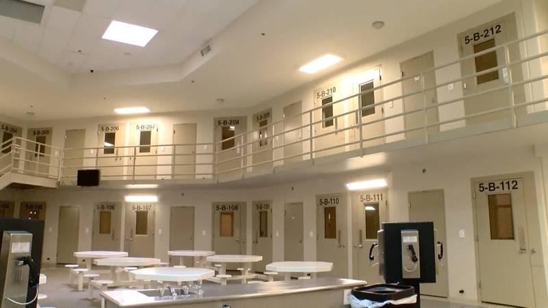 Lubbock County Detention Center Interior