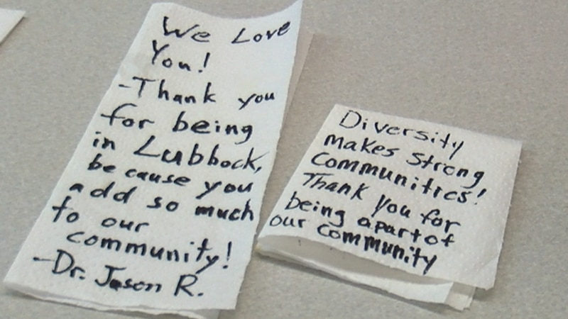The owner of Thai Thai restaurant in Lubbock is speaking out after a hateful note was left on...