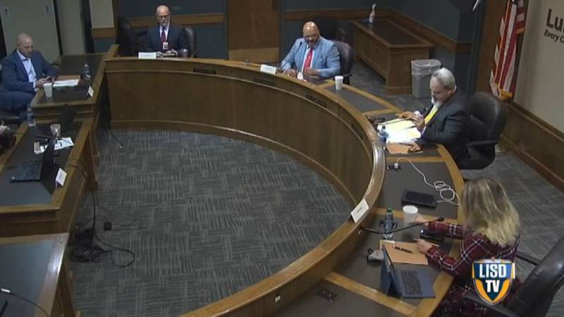 The LISD School Board has chosen to continue with their mask mandate for now. They don't have...