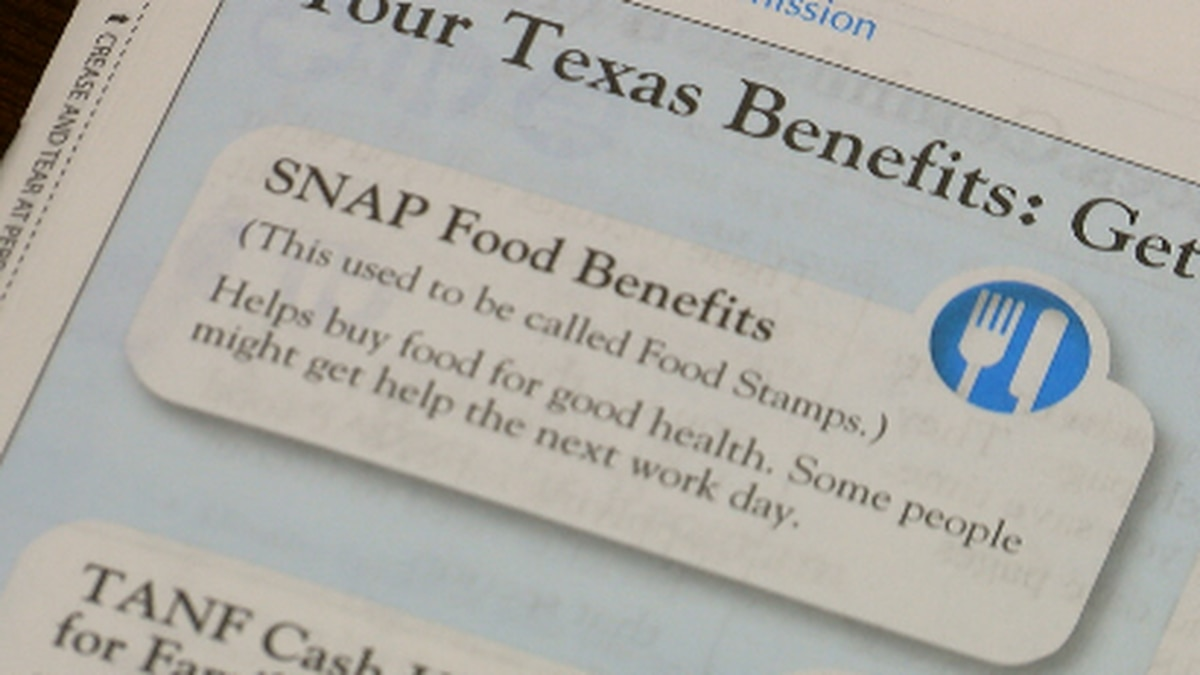 """""""Emergency SNAP benefits have helped millions of eligible Texas families and individuals put..."""