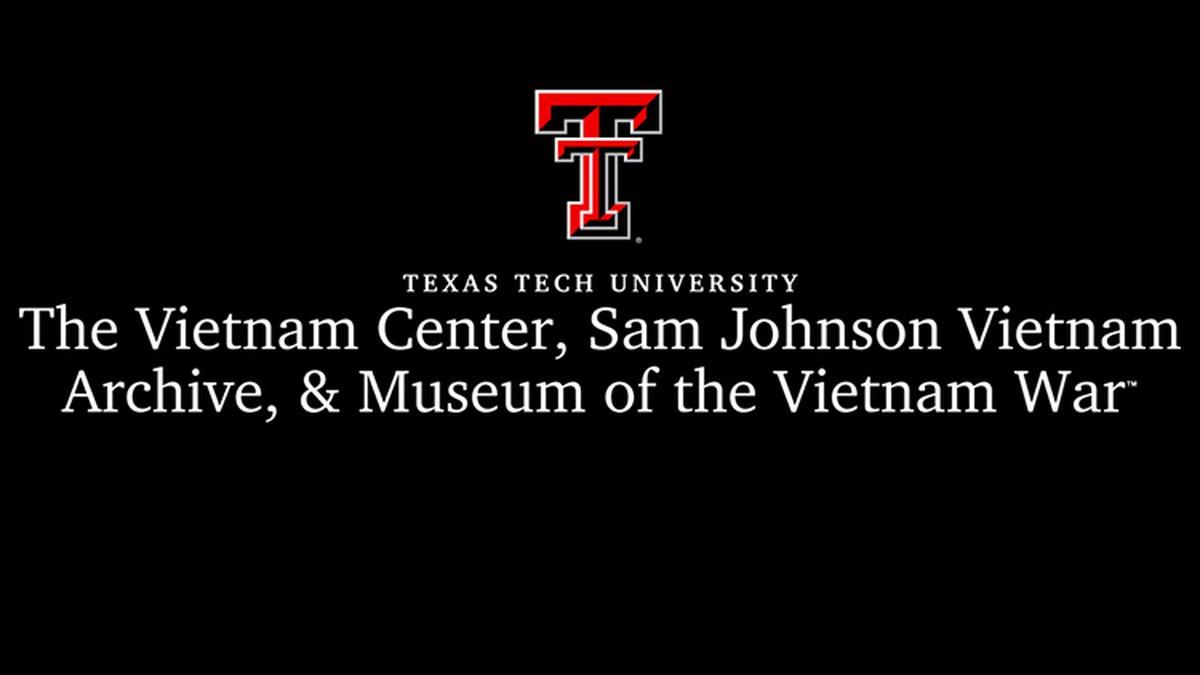 Texas Tech University's Vietnam Center & Sam Johnson Vietnam Archives received a grant from the...