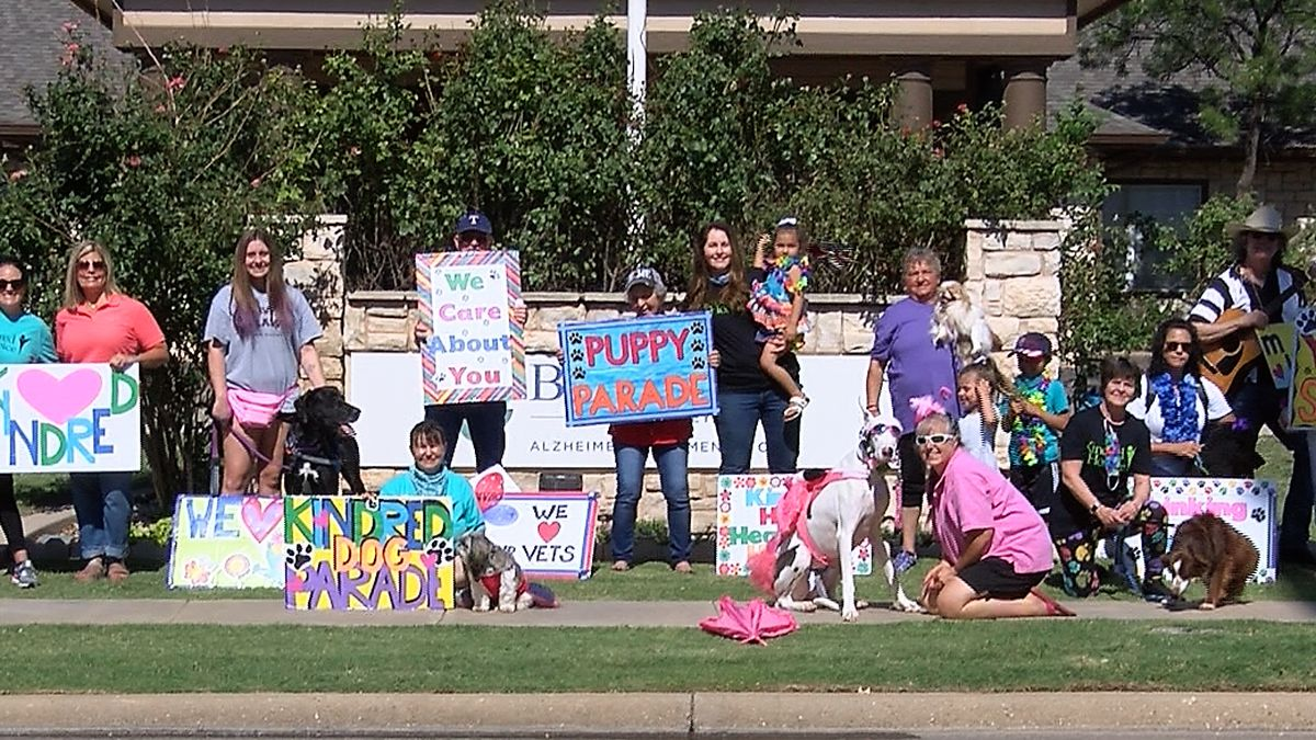 group visits Lubbock nursing and rehabilitation facility to spread joy and share smiles.