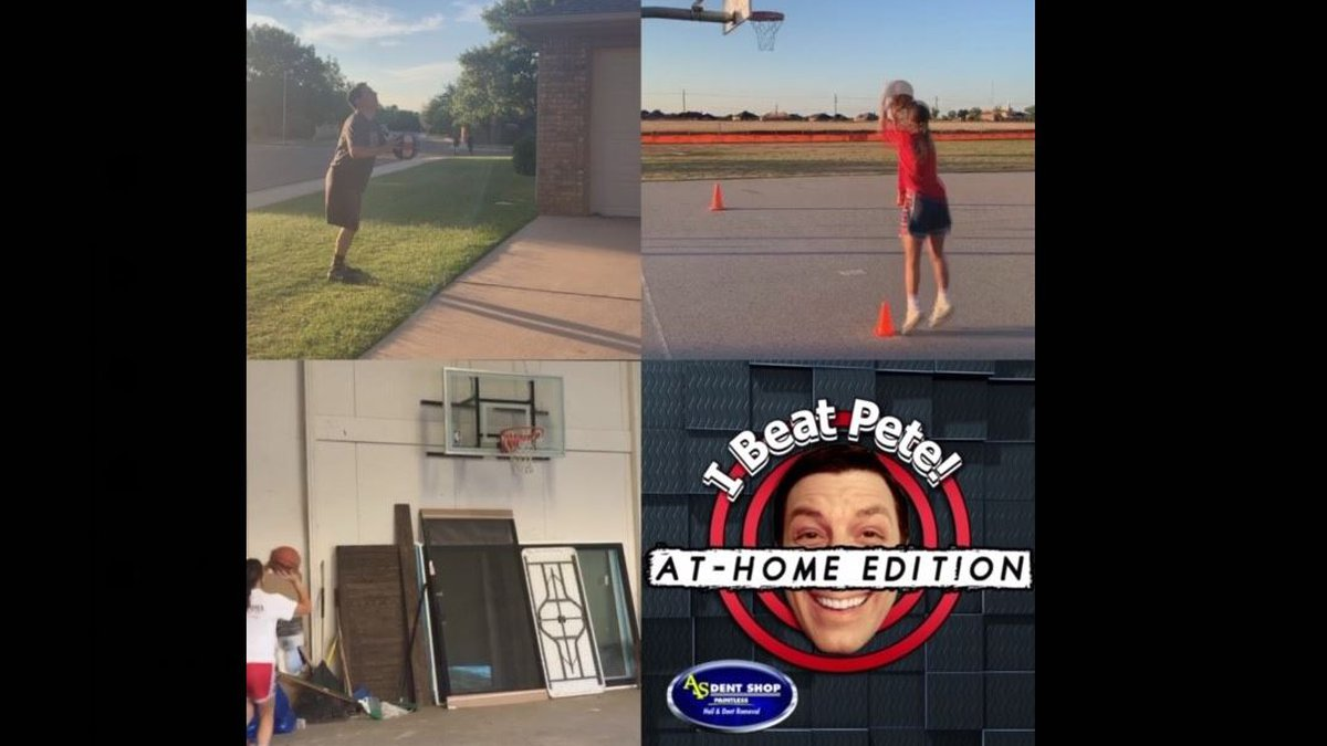 I Beat Pete: At-Home High 5 challenge vs. Lubbock Cooper Lady Pirates
