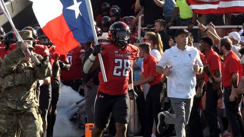 The Texas Tech football team's offense found its rhythm in a 54-21 blowout win over Florida...