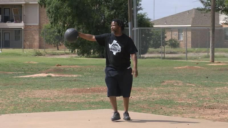 Estacado's Leditt Butler is hosting a basketball tournament to encourage kids to come outside...