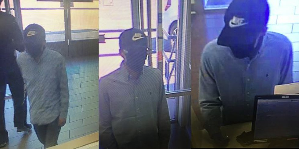 FBI, Crime Stoppers searching for suspect in Albuquerque bank robbery