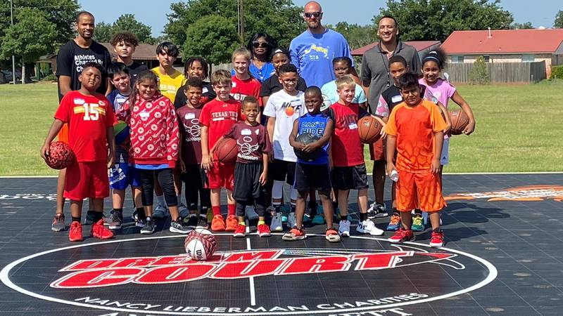 This weekend marked the First Annual Day Basketball Camp in honor of Red Raider basketball...