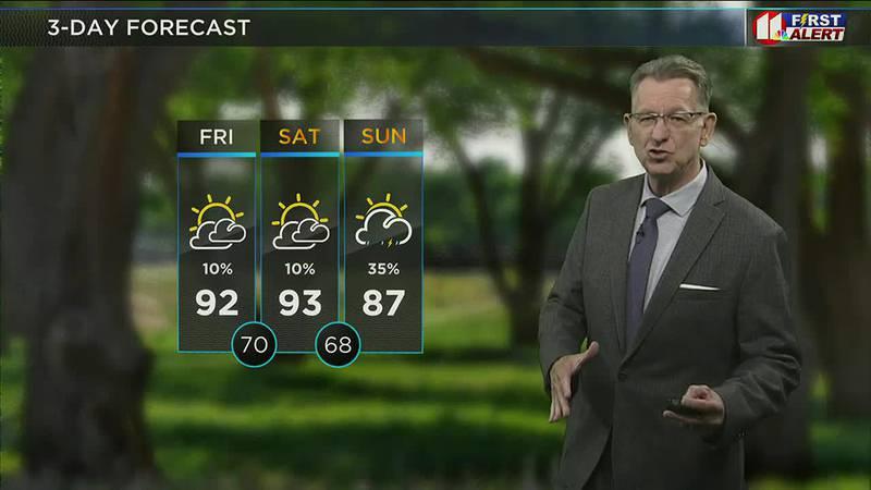 KCBD Daybreak Today - Weather, 5 a.m., July 30