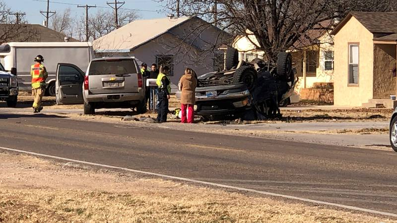 Four people suffered moderate injuries in a two-vehicle accident in the 100 block of 82nd...