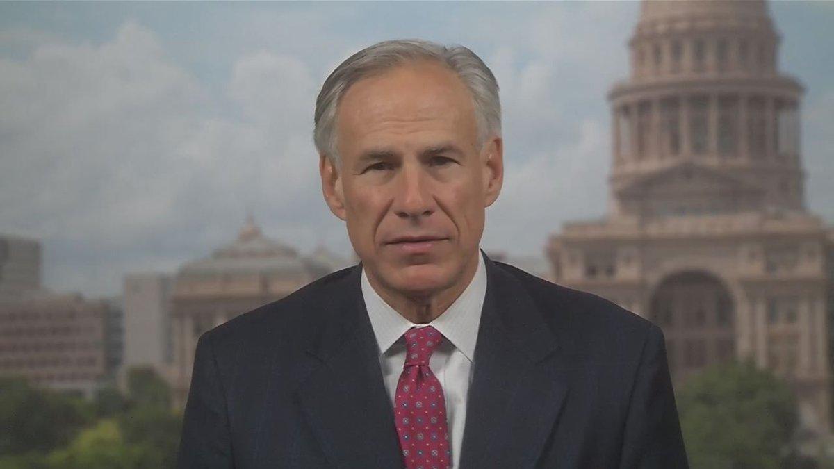 Texas Governor Greg Abbott. (Source: KLTV News Staff)