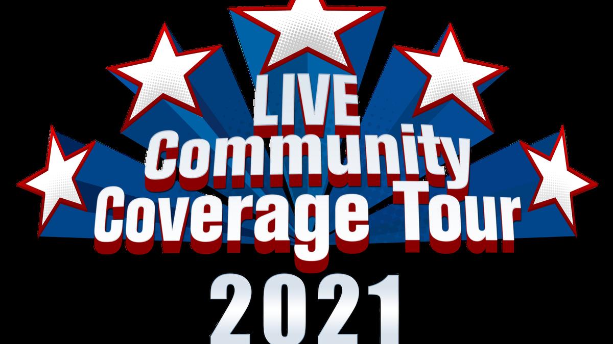 KCBD Community Coverage Tour 2021