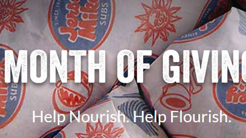 Jersey Mike's will donate all of its proceeds on March 27th to the Children's Miracle Network