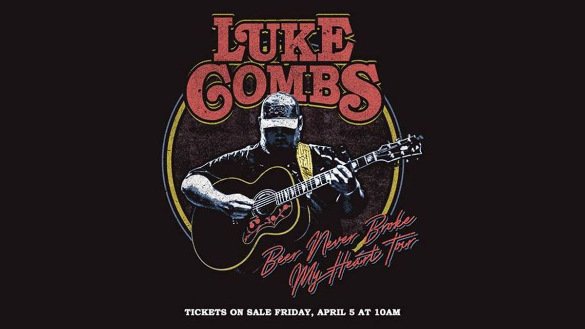 Luke Combs has added dates to his Beer Never Broke My Heart tour. (Source: Luke Combs)