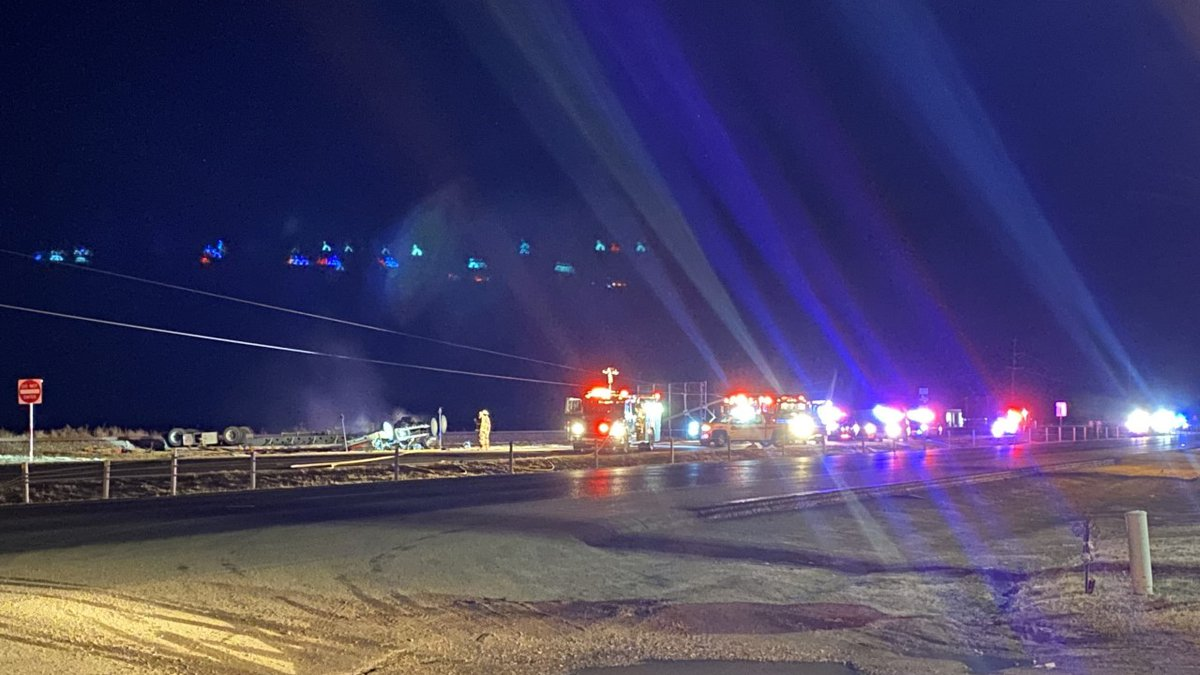 Emergency responders were called to a crash after midnight on Feb. 24 in-between Lubbock and...