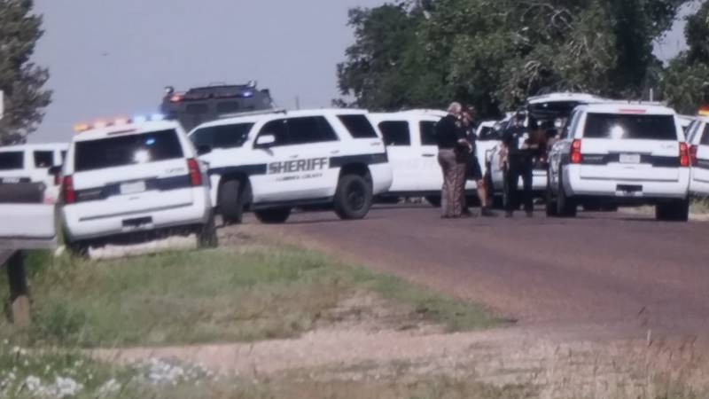 SWAT is responding to a potential barricaded subject in West Lubbock County.